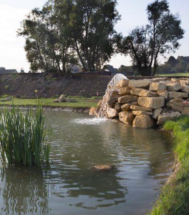 l'étang du Domaine de la Grange de Condé en Moselle