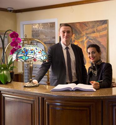Accueil établissement hôtelier de la Grange de Condé dans la région Grand Est