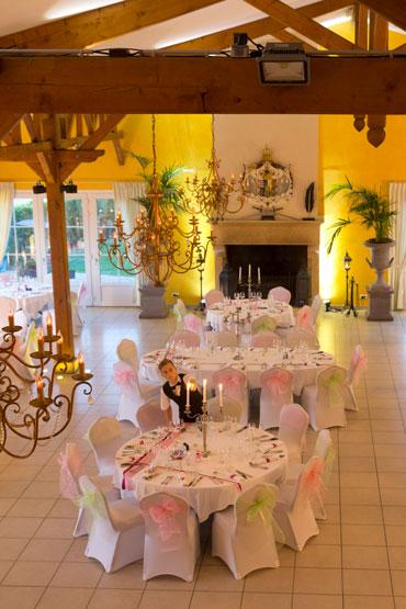 Salle des Ducs, restaurant de la Grange de Condé proche de Metz en Lorraine
