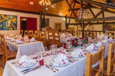 Salle des mineurs, restaurant la Grange de Condé en Moselle